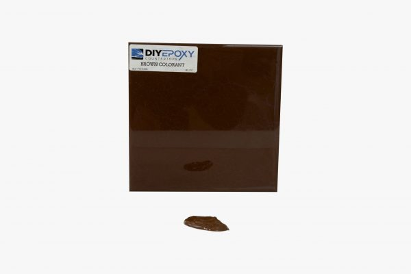 brown colorant countertops